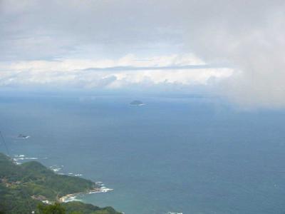 大麻山山頂から見た鹿島