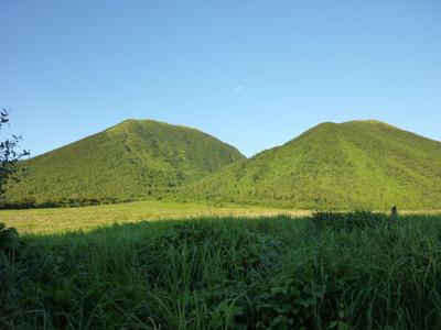 西の原から見た三瓶山