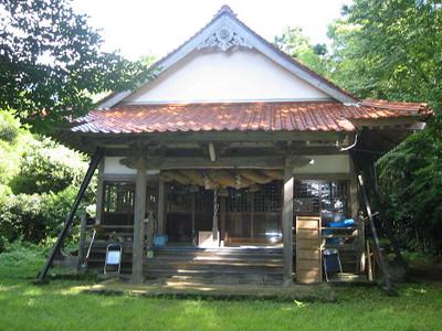 大田市三瓶町小屋原の三瓶山神社