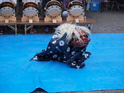 亀ヶ池八幡宮・獅子舞