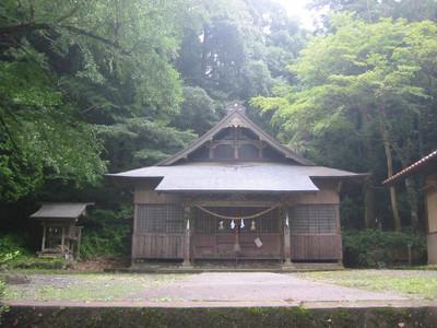 鹿足郡吉賀町柿木村の奇鹿神社