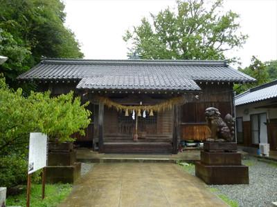 浜田市瀬戸ヶ島町の厳島神社・拝殿