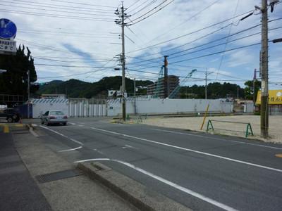 更地となった旧浜田医療センター