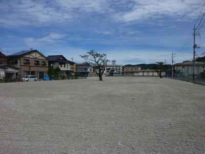 更地となった旧浜田医療センター関連の土地