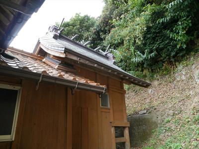 折井町の厳島神社・本殿