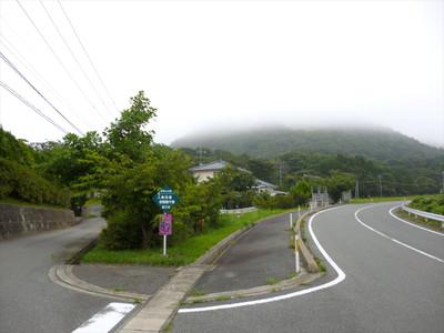 島根県江津市の高角山公園・入口