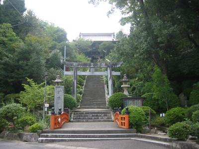 島根県益田市の柿本神社
