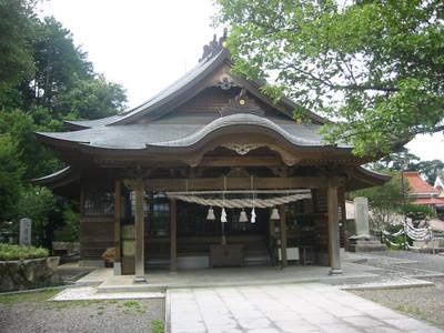 柿本神社・拝殿