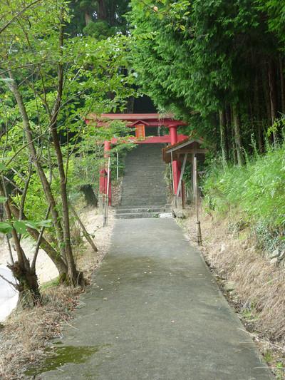 島根県益田市の戸田柿本神社