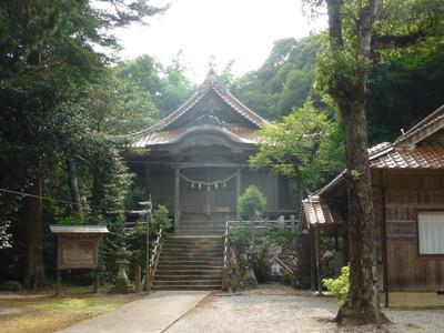 戸田柿本神社・拝殿