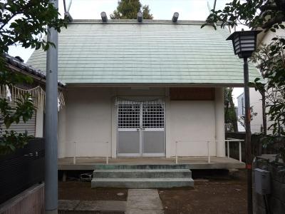 さいたま市浦和・第六天神社・拝殿