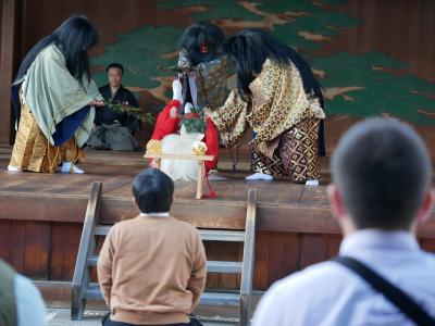 梅鉢会・因幡白兎・通りかかった八十神に塩水を撒かれてしまい苦しむ