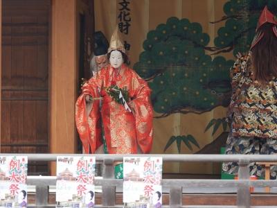 亀山社中・天の岩戸・天鈿女命