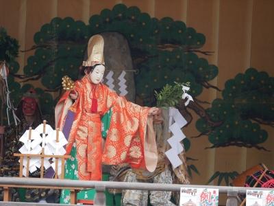 亀山社中・天の岩戸・天鈿女命の舞