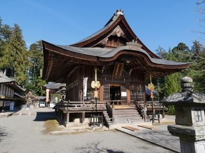 馬見岡綿向神社・拝殿