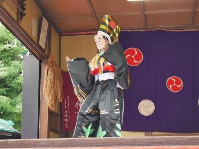 橘樹神社の奉納神楽・三番叟