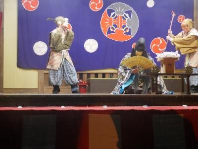 菩比の上使・酔いつぶれた天菩比神をモドキが襲撃しようとする