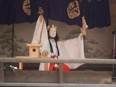 岡部社中・巫女舞?
