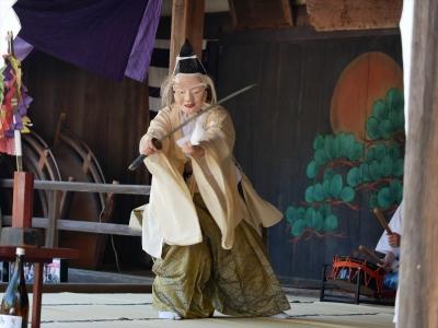 鷲宮神社・折紙の舞