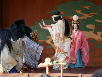 梅鉢会・八上姫・八上姫に求婚を断られる八十神