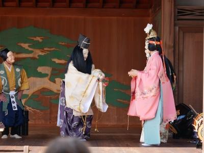 梅鉢会・八上姫・そこへやって来た大国主命