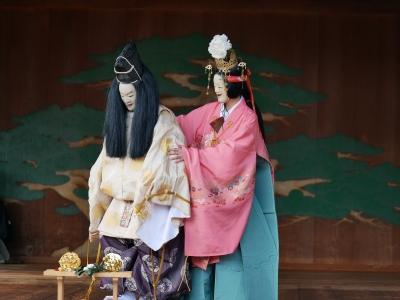 梅鉢会・八上姫・困り果てた大国主命の許に八上姫がやって来る