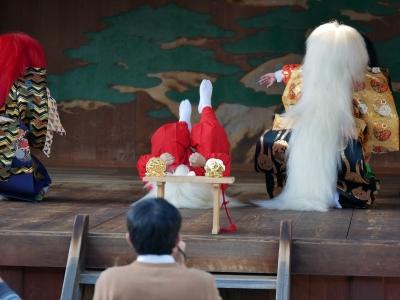 梅鉢会・因幡白兎・怒った鰐鮫に毛皮を剥かれてしまう