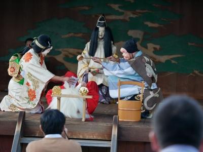 梅鉢会・因幡白兎・真水をかけて傷を癒す