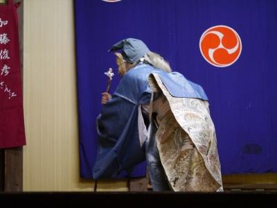 橘樹神社・加藤社中・去っていく浦島太郎