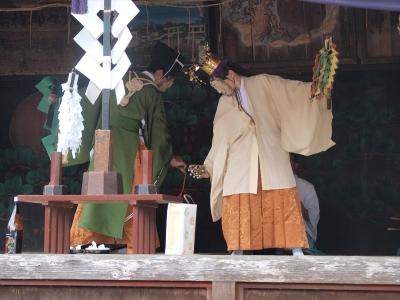 鷲宮神社・土師一流催馬楽神楽・天神地祇感応納受之段